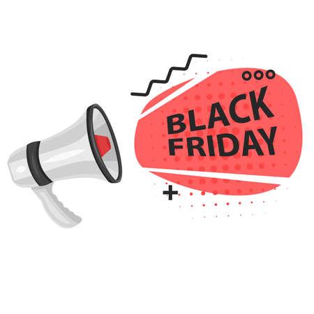 Black Friday Super Sale on a white background 向量圖像