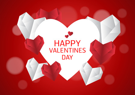illustration of love and valentine day,