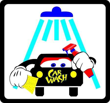 water hoses: Car wash