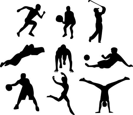 Sportsmen Illustration