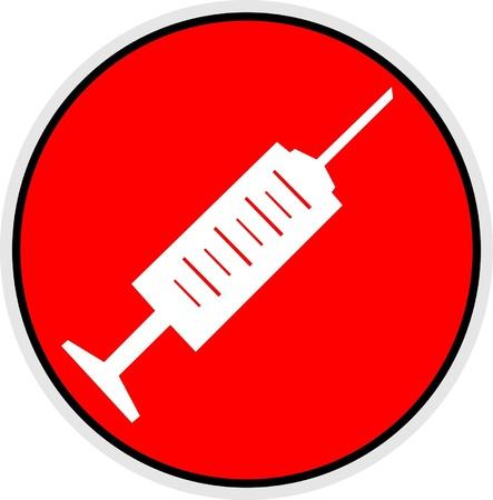 intravenously: Syringe