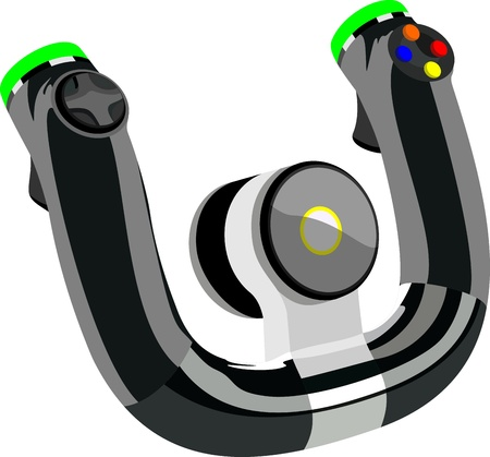 Control wheel Illustration