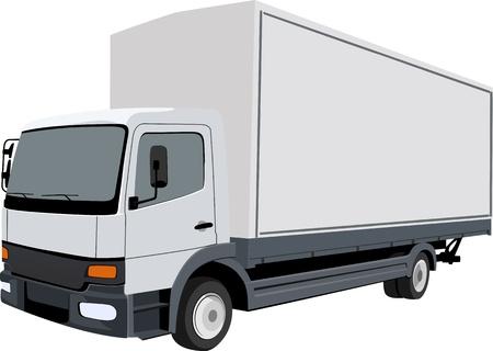 Truck heavy Stock Vector - 14234279