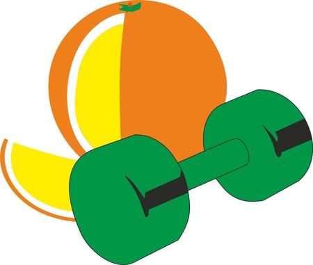 Orange and sport