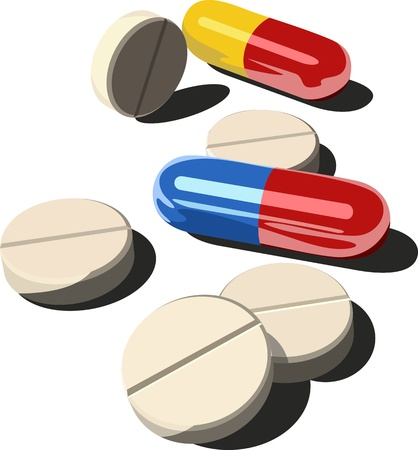 antidote: Veel medicijnen op wit wordt geïsoleerd