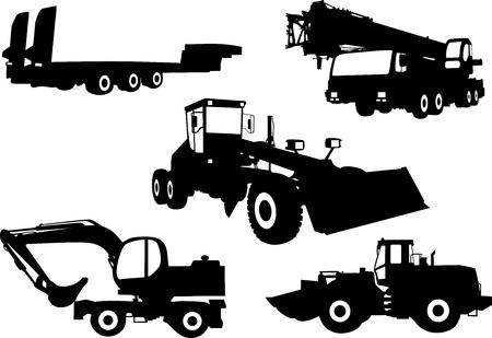 Tracteurs Vecteurs