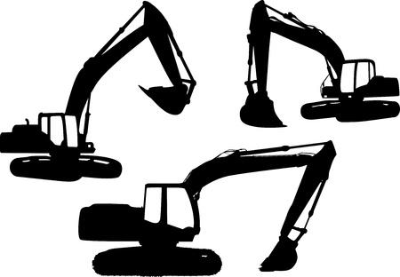 excavate: Crane