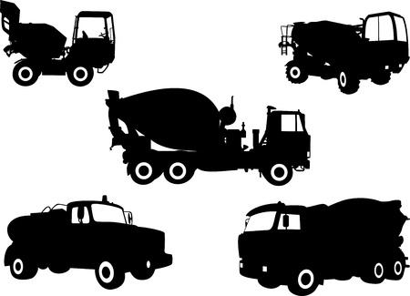 Trucks 1 Stock Vector - 21441382