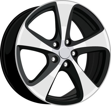 Wheel disk Vector