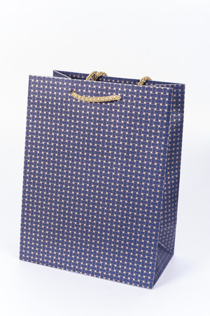 goodie: bags for gifts and wine . bags shop Stock Photo