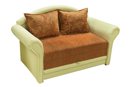 seater: Modern couch. Sofa for home Interior.