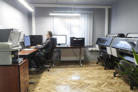 prepress: Prepress office