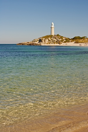 Bathurst Lighthouse  one of two lighthouses on Rottnest Island, Western Australia.