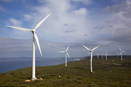 australia farm: Albany Wind Farm, near the town of the same name in Western Australia.