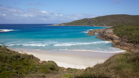 Lowlands Beach, between the towns of Albany and Denmark, Western Australia.