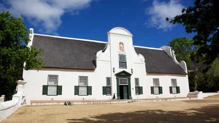 Groot Constantia, the finest surviving example of Cape Dutch architecture, and one of South Africa's foremost historical monuments tourist attractions, dates back to 1685. Groot Constantia has been producing wine for more than three centuries. In 1685, Stock Photo - 8382834