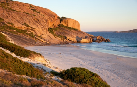 Late afternoon at West Beach, in the town of Esperance, Western Australia. Stock Photo