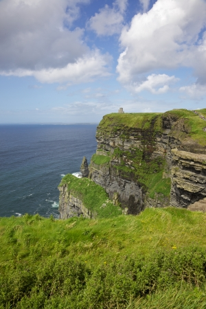 The 214-metre high Cliffs of Moher in County Clare are Ireland photo