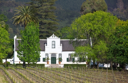 Buitenverwachting, a Cape Dutch manor house in the Constantia Valley, South Africa, dates back to 1773.