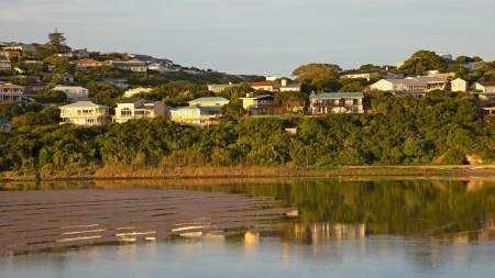 sandbank: A sandbank on Bushmans River, in South Africas Eastern Cape.