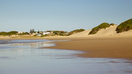 capes: The holiday hamlet of Boknes, in the Eastern Capes Sunshine Coast in South Africa.