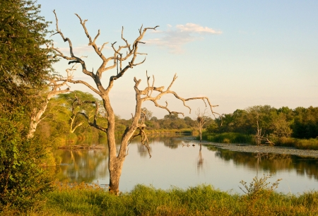 kruger national park: Gudzani Dam in the Kruger National Park, South Africa