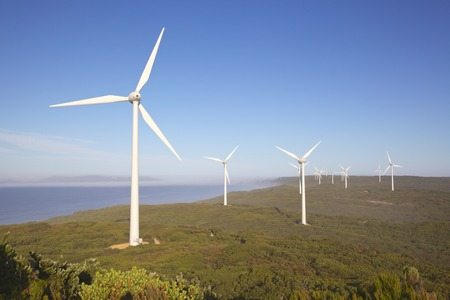 Albany Wind Farm, near the town of the same name in Western Australia  photo