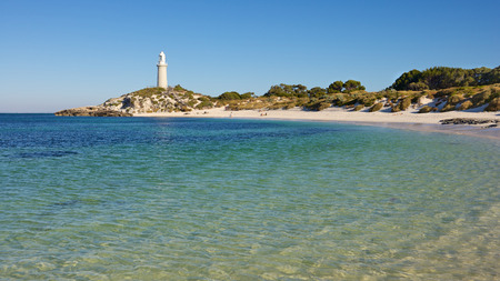 Bathurst Lighthouse, one of two lighthouses on Rottnest Island, Western Australia