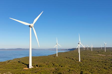 西オーストラリア州の同名の町の近くのアルバニー風力発電所。