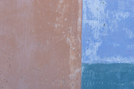 retro pattern: Image of a concrete wall in shades of blue and brown, suitable for use as a background or texture.