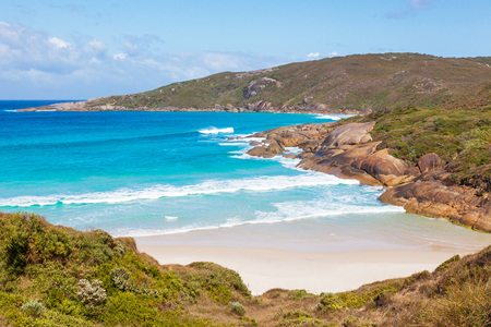lowlands: Lowlands Beach, between the towns of Albany and Denmark, Western Australia.