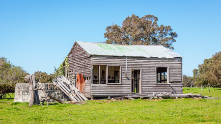 abandoned farmhouse abandoned farmhouse: An abandoned farmhouse near the hamlet of Karridale in the Margaret River region of Western Australia.