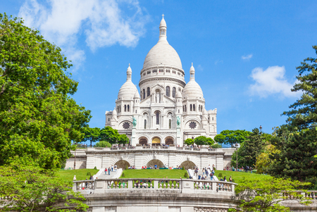 Sacre-Coeur is a Roman Catholic church and minor basilica, dedicated to the Sacred Heart of Jesus, in Montmartre in Paris, France. It is a Parisian landmark.