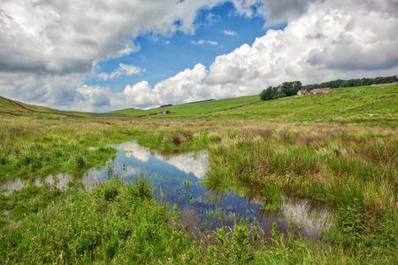 Northumberland landscape near Hadrians Wall