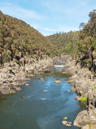 Cataract Gorge, in the lower section of the South Esk River in Launceston, Tasmania, is one of the region's premier tourist attractions.