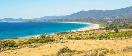 Coastal landscape near Bicheno in eastern Tasmania, Australia. Reklamní fotografie