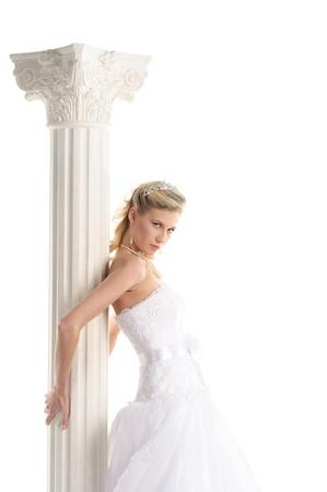beautiful bride in wedding dress Stock Photo - 11065269