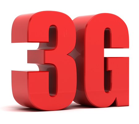 3G Network  Stock Photo