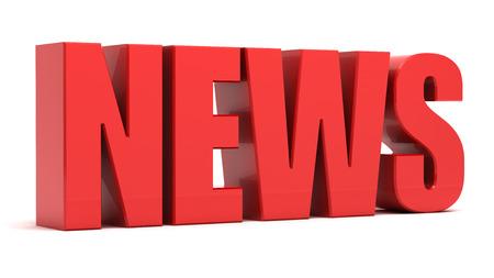 News 3d text