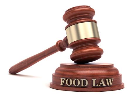 Ley alimentaria Foto de archivo