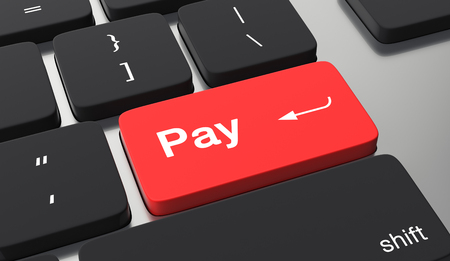 Pay button on keyboard.