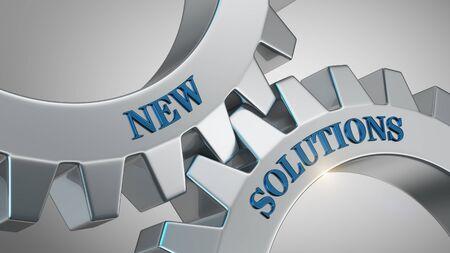 New solutions written on gear wheel