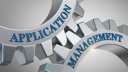 Application management written on gear wheel