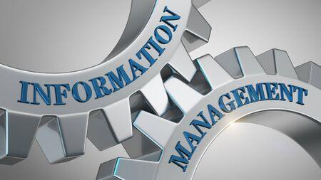 Information management written on gear wheel