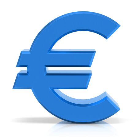 Euro symbol Фото со стока