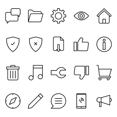 User Interface 3 Icon Outline