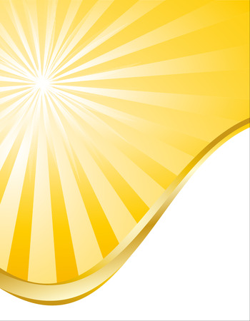 Illustration of Sun concept background Vector