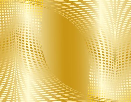 Gold grunge background Vector