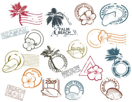 Mail to the Tropics Vector