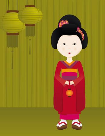 geisha girl: Geisha Girl
